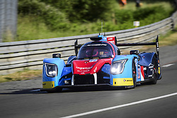 June 4, 2017 - Le Mans, France - 33 EURASIA MOTORSPORT (PHL) LIGIER JSP 217 GIBSON LMP2 JACQUES NICOLET (FRA) PIERRE NICOLET (FRA) ERIK MARIS  (Credit Image: © Panoramic via ZUMA Press)