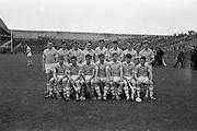 10/09/1967<br /> 09/10/1967<br /> 10 September 1967<br /> Under-21 Hurling Final: Dublin v Tipperary at Croke Park, Dublin.<br /> The Under-21 Dublin team.