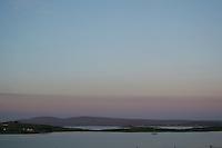 Sunset at Roundstone Connemara landscape County Galway Ireland