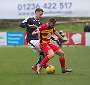 Partick Thistle&rsquo;s Steven Lawless and Dundee&rsquo;s Nick Ross - Partick Thistle v Dundee, Ladbrokes Premiership at Firhill<br /> <br /> <br />  - &copy; David Young - www.davidyoungphoto.co.uk - email: davidyoungphoto@gmail.com