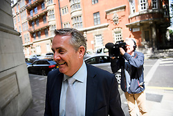 ©  London News Pictures. 05/07/2016. London, UK. LIAM FOX MP seen in Westminster, central London on July 5, 2016. Fox is a candidate in the current cConservative Party leadership contest. Photo credit: Ben Cawthra/LNP