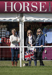 © Licensed to London News Pictures. 10/05/2017. Windsor, UK. Visitors enjoy the sunshine at the Royal Windsor Horse Show. The five day equestrian event takes place in the grounds of Windsor Castle. Photo credit: Peter Macdiarmid/LNP