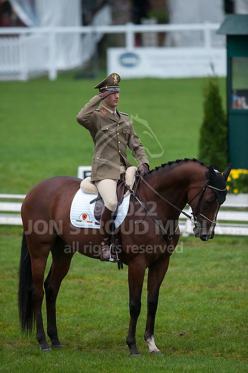 Emiliano Portale (ITA) & Rubens delle Sementarecce - Dressage - 7 Year Old Horses - Mondial du Lion - FEI World Championship for Young Horses - Le Lion d'Angers, France - 18 October 2012