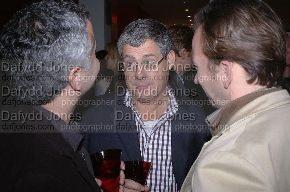 """CAMERON MACKINTOSH. World Premiere of the theatrical production of """"Edward Scissorhands"""" at Sadler's Wells Theatre in London. 30 November 2005. ONE TIME USE ONLY - DO NOT ARCHIVE  © Copyright Photograph by Dafydd Jones 66 Stockwell Park Rd. London SW9 0DA Tel 020 7733 0108 www.dafjones.com"""