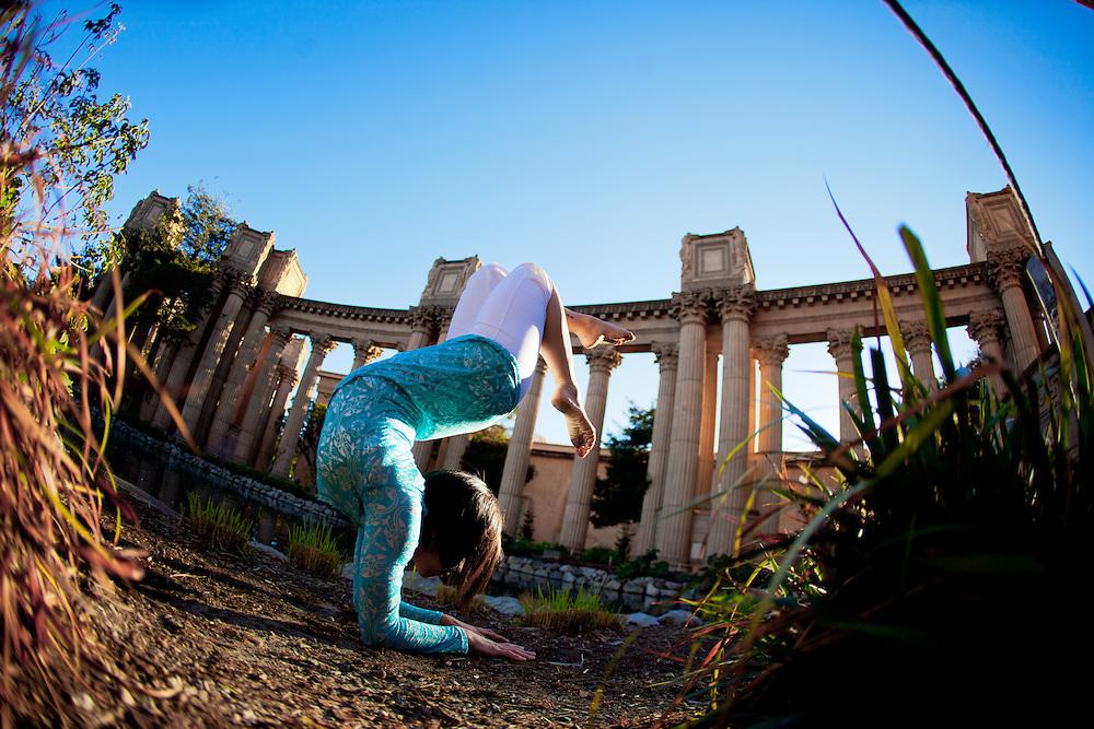 Teri Wing at the Palace of fine arts, San Francisco
