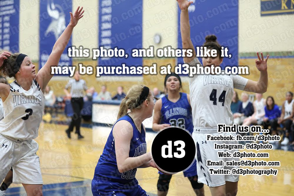 Women's Basketball: Lawrence University Vikings vs. Illinois College Blue Boys/Lady Blues
