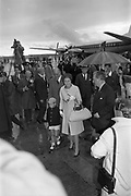 25/08/1963<br /> 08/25/1963<br /> 25 August 1963<br /> Royal Visit by Prince Rainier and Princess Grace of Monaco. The Royal family arrive at Dublin Airport. Princess Grace and Prince Albert are escorted past the media by Frank Aiken at Dublin Airport.