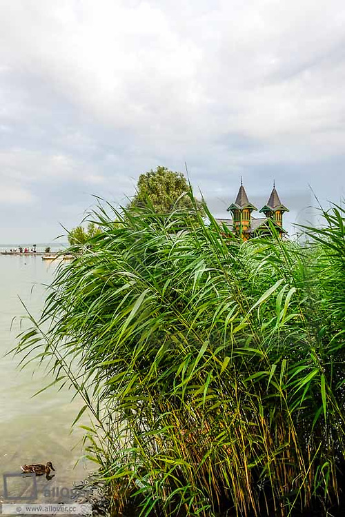 Traditional lake spa, Keszthely, lake Balaton, Hungary, Western Hungary