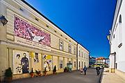 Rodzinny dom Jana Pawła II (po lewej),  Wadowice, Polska<br /> Holy Father John Paul II Family Home (on the left), Wadowice, Poland