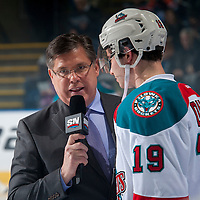 021717 Spokane Chiefs at Kelowna Rockets