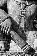 Detail of statue from Kathmandu valley.