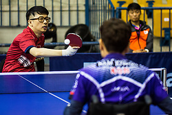 YEO Kwok Chian Aaron of Singapore during SPINT 2018 Table Tennis world championship for the Disabled, Day One, on October 16th, 2018, in Dvorana Zlatorog, Celje, Slovenia. . Photo by Grega Valancic / Sportida