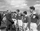 1953 - Soccer: Ireland v Wales Schoolboys International