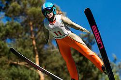 Kaja Urbanija Čož (SLO) during Ski jumping Summer cup - 45. Revija skokov Mostec on June 4, 2016 in Mostec hill, Ljubljana, Slovenia.Photo by Vid Ponikvar / Sportida