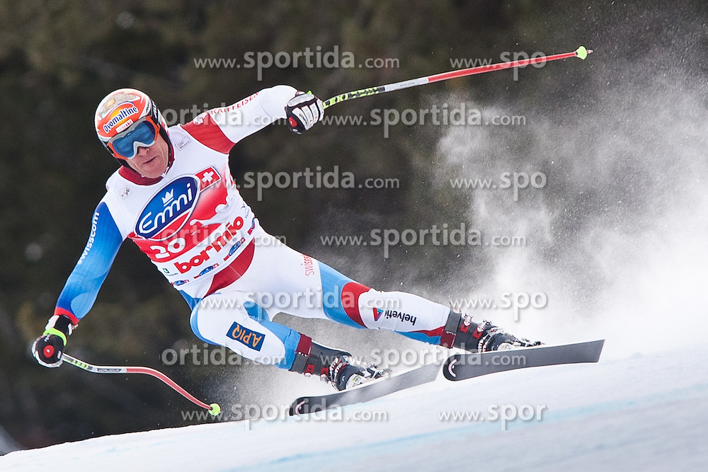 28.12.2010, Pista Stelvio, Bormio, ITA, FIS World Cup Ski Alpin, Men, second downhill training, im Bild Didier Cuche (SUI, #20) Platz 3. EXPA Pictures © 2010, PhotoCredit: EXPA/ J. Groder