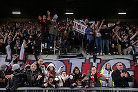 SUPPORTERS GUINGAMP- 24.01.2015 - Guingamp / Lorient - 22eme journee de Ligue1<br />