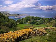 MV Clansman passes Dunollie castle, Argyll