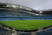 Etihad Stadium during the Champions League Group D match between Manchester City and Sevilla at the Etihad Stadium, Manchester, England on 21 October 2015. Photo by Alan Franklin.