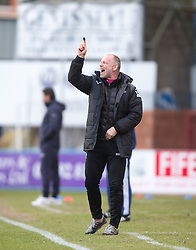 Inverness Caledonian Thistle's manager John Hughes, <br /> Dundee 1 v 1 Inverness Caledonian Thistle, SPFL Ladbrokes Premiership game played at Dens Park, 27/2/2016.