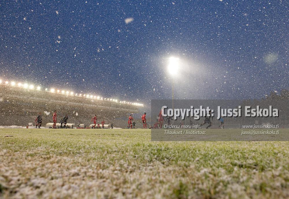 FC Lahti - Jaro. Veikkausliiga. Lahti 17.4.2010. Photo: Jussi Eskola