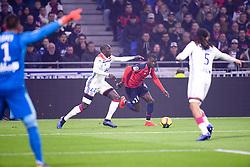 May 5, 2019 - Lyon, France - 19 NICOLAS PEPE (LIL) - 22 FERLAND MENDY  (Credit Image: © Panoramic via ZUMA Press)