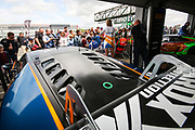 Barwell Motorsport Lamborghini Huracan GT3 with drivers Liam Griffin & Sam Tordoff during the British GT Silverstone 500 at the Silverstone Circuit, Silverstone, England on 11 June 2017. Photo by Jurek Biegus.