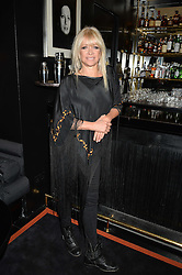 JO WOOD at the launch of Blakes Below at Blakes Hotel, 33 Roland gardens, London SW7 on 14th September 2016.