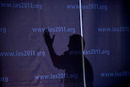 Italy, Rome. 6th IAS Conference on HIV Pathogenesis, Treatment and Prevention (IAS 2011)..WELBD. Oral Abstract Session Late Breaker Track D (Operations and Implementation Research)..Photo shows: Thomas Harrison..©IAS/Marcus Rose/Worker's Photos.....