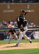 Apr 11, 2006; Detroit, MI, USA: Chicago White Sox pitcher Freddy Garcia, Comerica Park.