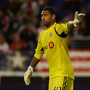 Freddy Hall, Toronto FC, goalkeeping during the New York Red Bulls V Toronto FC  Major League Soccer regular season match at Red Bull Arena, Harrison. New Jersey. USA. 29th September 2012. Photo Tim Clayton