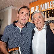 NLD/Volendam/20190522 - Boekpresentatie Keje Molenaar – Meesterlijk, Pier Tol en Sjaak Swart