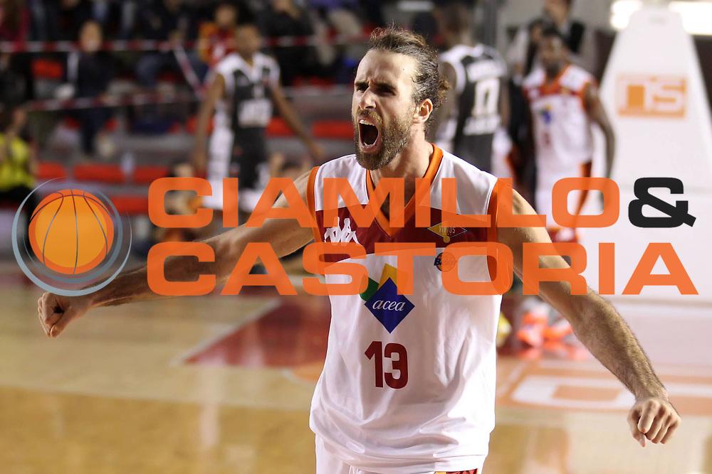 DESCRIZIONE : Roma Lega A 2012-13 Acea Virtus Roma Juve Caserta<br /> GIOCATORE : Luigi Datome<br /> CATEGORIA : esultanza<br /> SQUADRA : Acea Virtus Roma<br /> EVENTO : Campionato Lega A 2012-2013 <br /> GARA : Acea Virtus Roma Juve Caserta<br /> DATA : 28/10/2012<br /> SPORT : Pallacanestro <br /> AUTORE : Agenzia Ciamillo-Castoria/ElioCastoria<br /> Galleria : Lega Basket A 2012-2013  <br /> Fotonotizia : Roma Lega A 2012-13 Acea Virtus Roma Juve Caserta<br /> Predefinita :