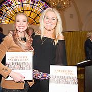 NLD/Heemstede/20151116 - Boekpresentatie De Zin van het Leven, Gemma van Eck en Marga Scheide