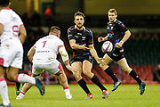 Ospreys centre Ashley Beck during the European Challenge Cup match between Ospreys and Stade Francais at Principality Stadium, Cardiff, Wales on 2 April 2017. Photo by Andrew Lewis.