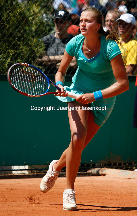 French Open 2010, Roland Garros, Paris, Frankreich,Sport, Tennis, ITF Grand Slam Tournament, ..Petra Kvitova  (CZE) .. ....Foto: Juergen Hasenkopf..