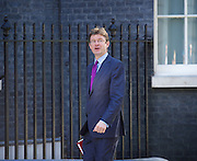 Cabinet meeting arrivals <br /> Downing Street, London, Great Britain <br /> 19th July 2016 <br /> <br /> New members of the Cabinet <br /> arriving ahead of the first cabinet meeting chaired by Theresa May <br /> <br /> Greg Clark<br /> Business and energy<br /> <br /> <br /> Photograph by Elliott Franks <br /> Image licensed to Elliott Franks Photography Services Greg Clark<br />
