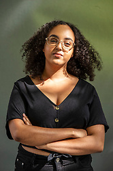 Pictured: Tania Nwachukwu<br /><br />Tania Nwachukwu is a Nigerian-British writer, poet and performer from London whose storytelling springs from profound, personal matters and from the lives and experiences of Black communities in Britain (see her project Black in the Day).<br /><br />Ger Harley | EEm 18 August 2019