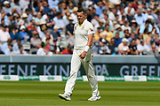 Peter Siddle of Australia during the International Test Match 2019 match between England and Australia at Lord's Cricket Ground, St John's Wood, United Kingdom on 18 August 2019.