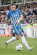 Nathan Thomas (Hartlepool United) during the EFL Sky Bet League 2 match between Hartlepool United and Carlisle United at Victoria Park, Hartlepool, England on 14 April 2017. Photo by Mark P Doherty.