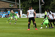 Forest Green Rovers Liam Noble (15) scores from a free kick, 0-1 during the Vanarama National League match between Dover Athletic and Forest Green Rovers at Crabble Athletic Ground, Dover, United Kingdom on 10 September 2016. Photo by Shane Healey.