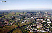 aerial photograph of Cambuslang Glasgow Scotland