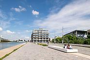 Place de la Pointe, ZAC du Port à Pantin
