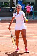 "Camille Gbaguidi-Keller, European Maccabi Games, LTTC ""Rot-Weiß"", Berlin, 02.08.2015, Foto: Claudio Gaertner"