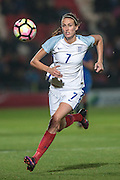 Jill Scott (England) runs after the ball during the International Friendly match between England Women and France Women at the Keepmoat Stadium, Doncaster, England on 21 October 2016. Photo by Mark P Doherty.