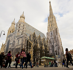 11.11.2010, Graz, AUT, Feature, im Bild Stephansdom am Stephansplatz, EXPA Pictures © 2012, PhotoCredit: EXPA/ Erwin Scheriau