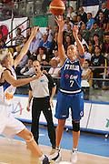 DESCRIZIONE : Ortona Italy Italia Eurobasket Women 2007 Serbia Italia Serbia Italy <br /> GIOCATORE : Francesca Zara <br /> SQUADRA : Nazionale Italia Donne Femminile <br /> EVENTO : Eurobasket Women 2007 Campionati Europei Donne 2007 <br /> GARA : Serbia Italia Serbia Italy <br /> DATA : 01/10/2007 <br /> CATEGORIA : Tiro <br /> SPORT : Pallacanestro <br /> AUTORE : Agenzia Ciamillo-Castoria/S.Silvestri Galleria : Eurobasket Women 2007 <br /> Fotonotizia : Ortona Italy Italia Eurobasket Women 2007 Serbia Italia Serbia Italy <br /> Predefinita :