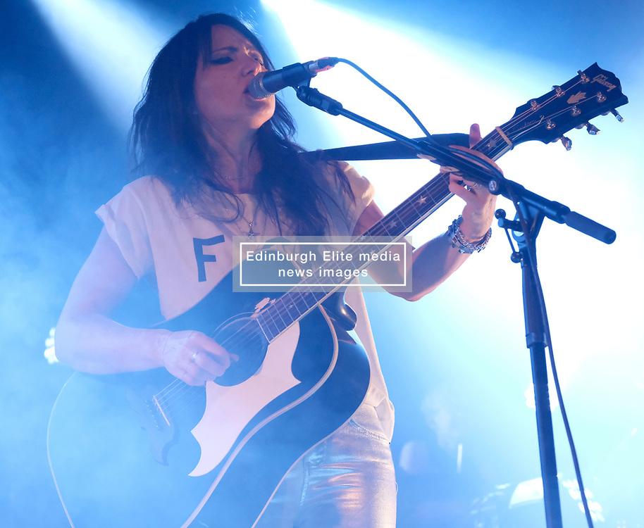 KT Tunstall at Barrowlands Glasgow, UK tour of album 'Wax'<br /> <br /> Pictured: KT Tunstall<br /> <br /> (c) Aimee Todd | Edinburgh Elite media