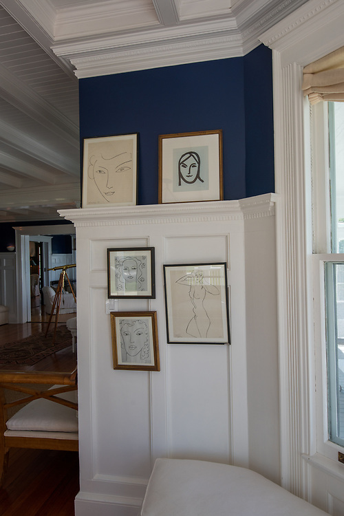 Matisse Drawings,  Nostrand parkway, Shelter Island, NY