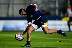 Ed Fidow of Worcester Cavaliers scores a try - Mandatory by-line: Robbie Stephenson/JMP - 16/12/2019 - RUGBY - Sixways Stadium - Worcester, England - Worcester Cavaliers v Wasps A - Premiership Rugby Shield