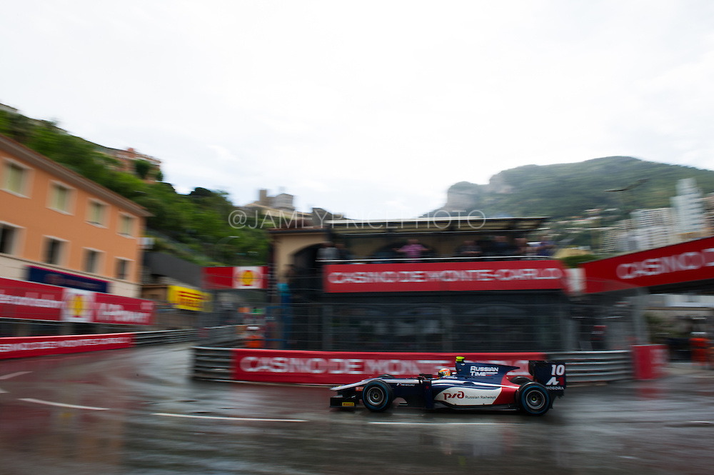 May 20-24, 2015: GP2 Monaco - Artem Markelov, Russian Time